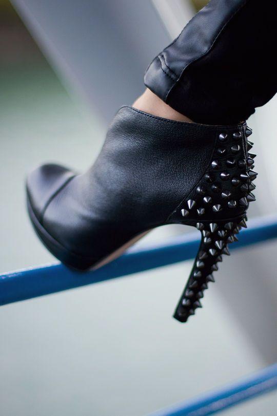 BCBG Maxazria Spikes Boots