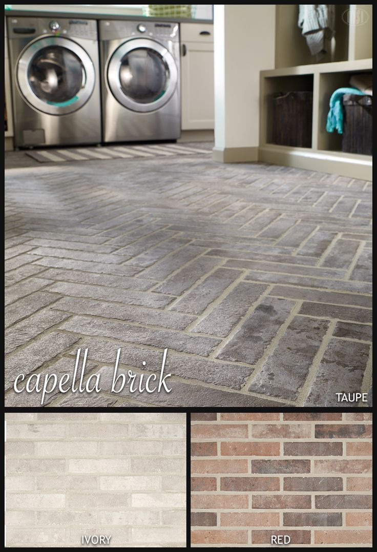 Inspired by classic brick floors and walkways, an accent wall in an urban loft, and vintage brick pavers, new Capella Bricks offer a modern twist on an old time favorite in 3 gorgeous colors – Ivory, Red, and Taupe. Revamp your tile style and create a statement floor or dramatic accent wall with these porcelain brick tiles.