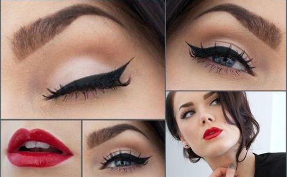 Maquiagem pin-up