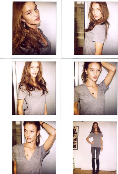 Rosie Huntington-Whiteley poses