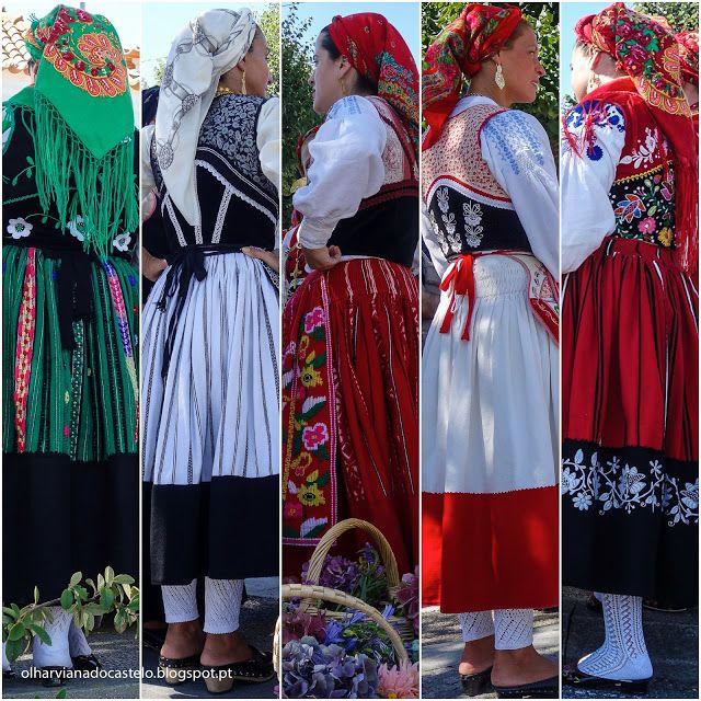 Trajes tradicionais do concelho de Viana - Olhar Viana do Castelo