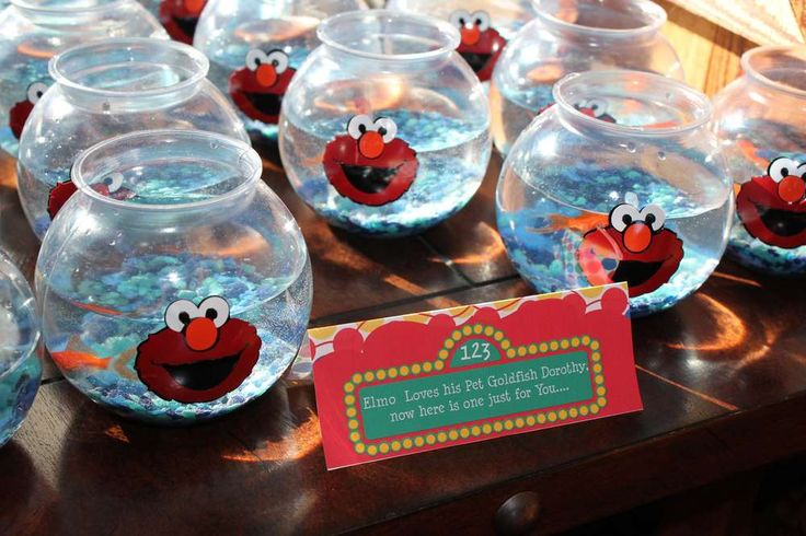 Elmo & Sesame Street Birthday Party Ideas | Photo 1 of 21 | Catch My Party