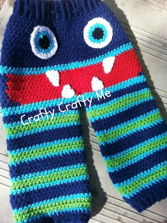 Crochet Pattern Baby Monster Pants : 17 Best images about Crochet - Baby - Pants on Pinterest ...