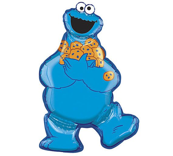 COOKIE MONSTER BALLOON 31\