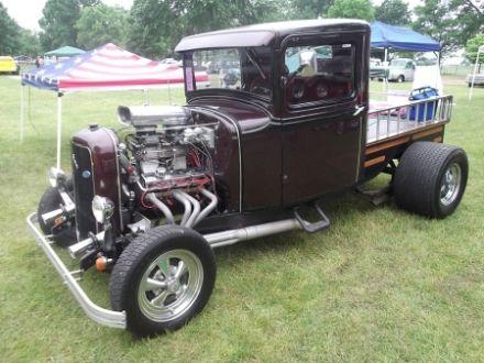 old school truck hot rod truck custom pick up custom rod