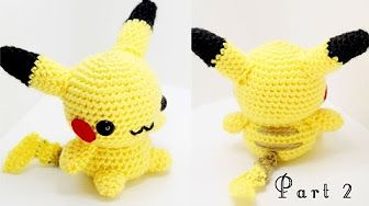 Pikachu Amigurumi Crochet Tutorial Part 1 – YouTube