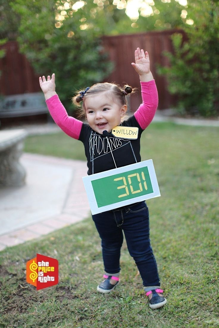 a contestant on the price is right little girl costumestoddler girl costumesawesome halloween costumestoddler halloween costumescreative - Unique Boy Halloween Costume Ideas