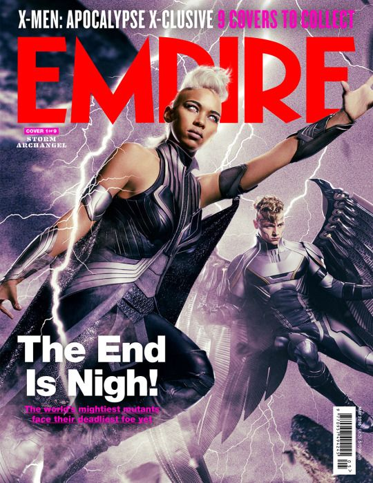 Another look at Alexandra Shipp as Storm via the latest issue of Empire!  #XMen #Apocalypse