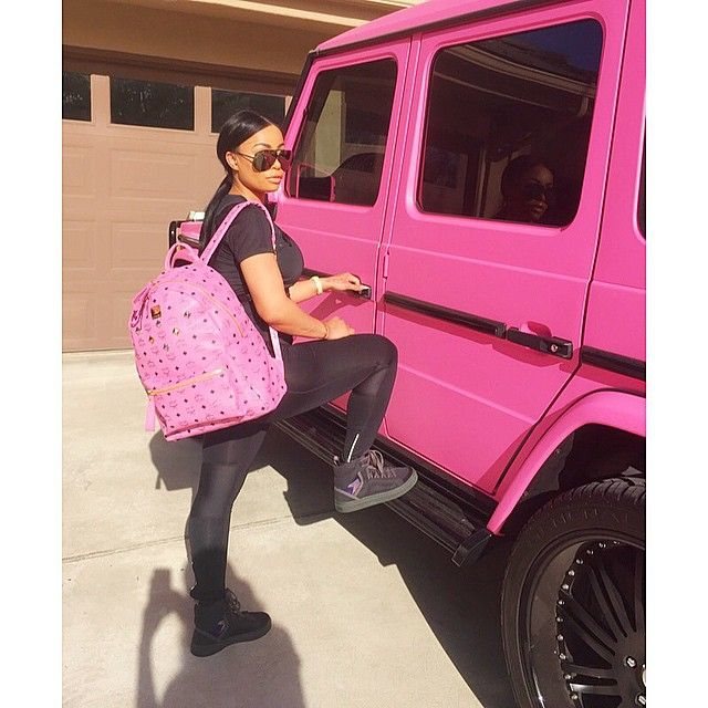 I searched high and low for a pink MCM bag to match my Pink G wagon ...S/O to @rcrconsignment in Atlanta, Ga they found it for me I will definitely be doing business with them again!