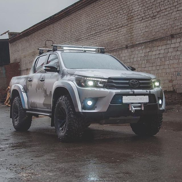 Truck Toyota: 25+ Best Ideas About Toyota Hilux On Pinterest