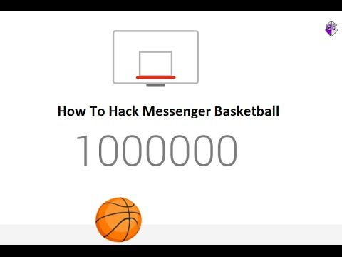 Facebook Basketball Game Cheat [Tutorial] - How To Hack Messenger Basket...