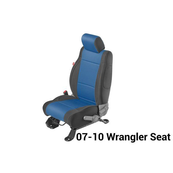 Diver Down Front And Rear Neoprene Seat Covers With Free Center Console Cover For 07 18 Wrangler Unlimited Jk 4 Door Neoprene Seat Covers Custom Fit Seat Covers Seat Covers