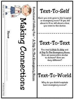 Trip To The Emergency Room  ~This Unit Is Aligned To The CCSS And Each Page Has The Specific CCSS Listed~ This is an 81 page resource and activity packet. $