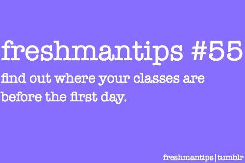 Freshmantips