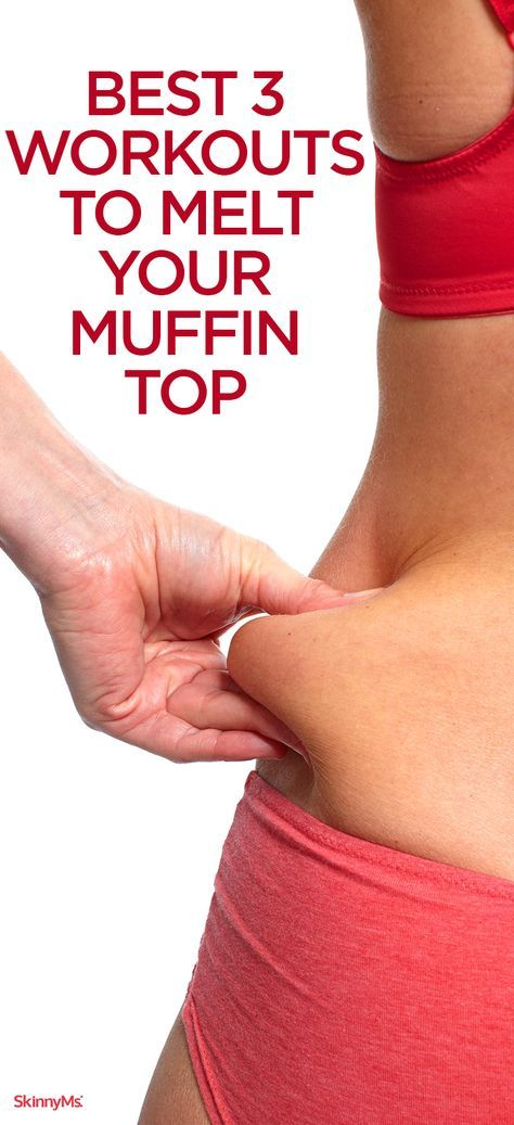 These Best 3 Workouts to Melt Your Muffin Top are easy, short, and intense just what you need to get your body flushing fat.