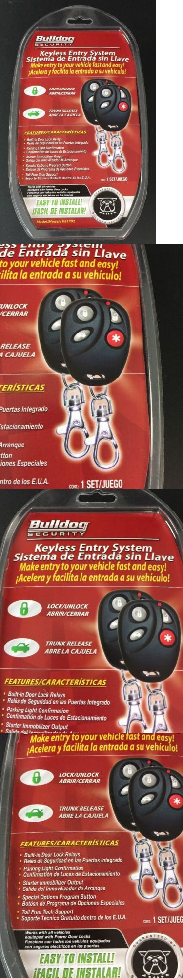 Remote Start and Entry Systems: Bulldog Security Ke1702 Vehicle Keyless Entry System Car Auto Remote Lock New F4 -> BUY IT NOW ONLY: $33.94 on eBay!