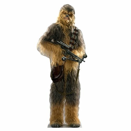 Star Wars The Force Awakens Chewbacca Cutout