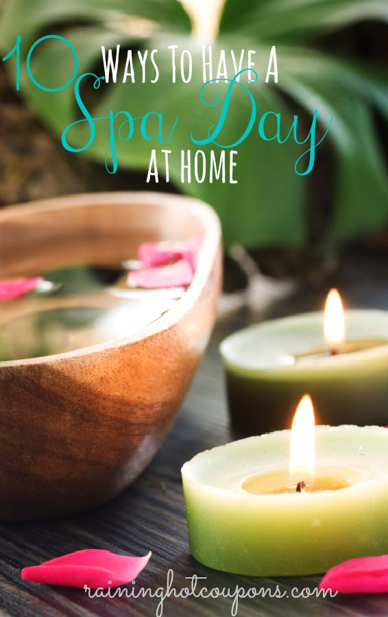 10 Simple Ways To Have A Spa Day At Home!  Enjoy a life of luxury right at home! www.wcicommunities.com