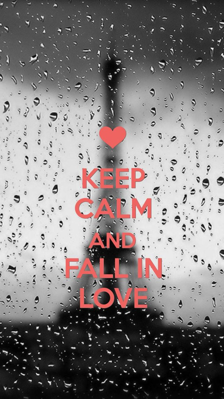 Fall in Love Keepcalm Wallpaper