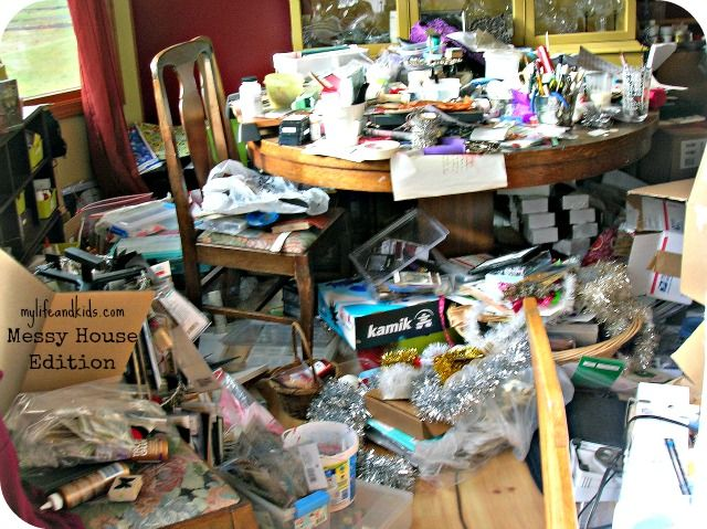 Pictures of messy houses