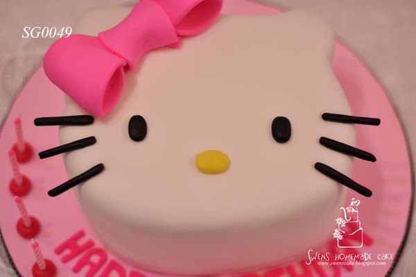 Hello Kitty Cake #cake #hello kitty