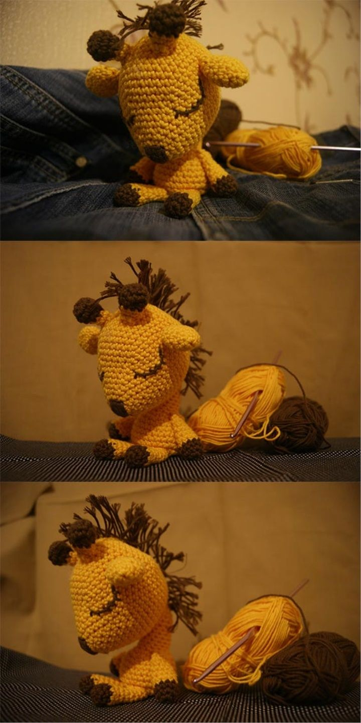 Amigurumi Giraffe Tutorial Amigurumi Amigurumipattern Crochettoys