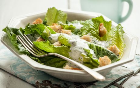 Buttermilk Ranch dressing - Making your own ranch dressing is surprisingly easy. Your salads will thank you!