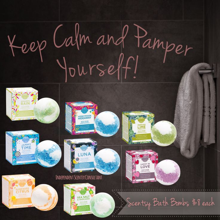 Scentsy Bath Bombs Available as of 3/5/2018