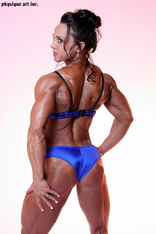 Roxie Rain Biomedical Science Strong Women Athletic Women