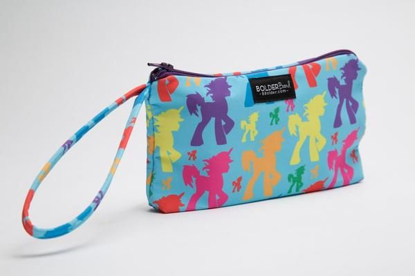 Bold, Beautiful You-nicorn Wristlet