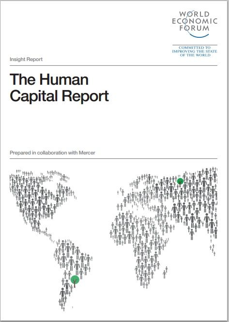 The Human Capital Report details the findings of an Index which measures countries on their ability to develop and deploy healthy, educated and able workers through four distinct pillars: Education, Health & Wellness, Workforce & Employment and Enabling Environment.  #wef #wefreport #humancapital