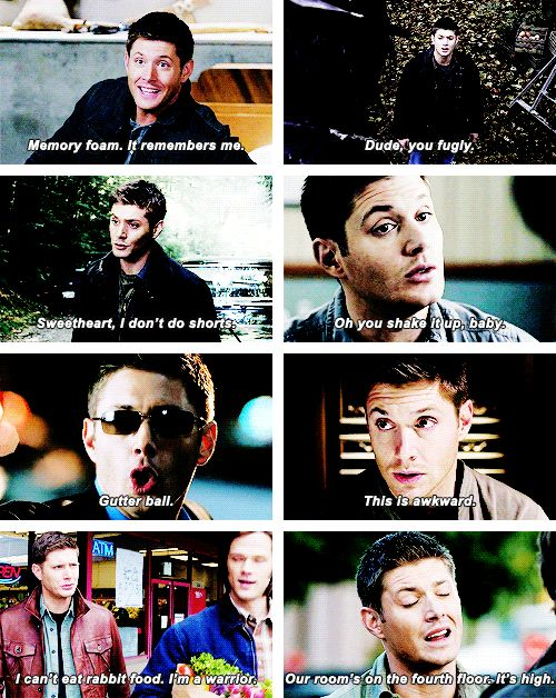 Some of Dean's more memorable moments