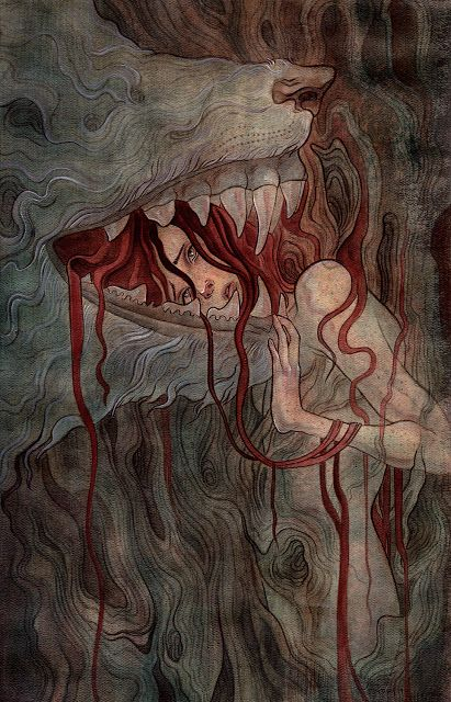 """Tender"" by Sam Guay #illustration #art"