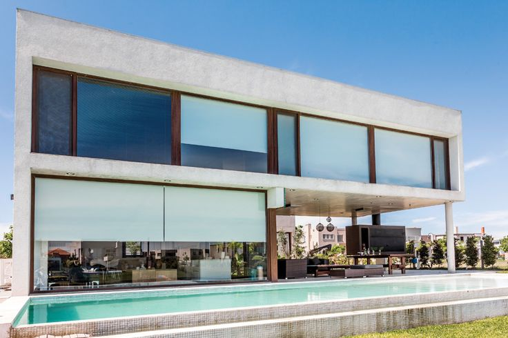 Pureza estética en una casa de ensueño - Lucrecia Álvarez - ESPACIO LIVING