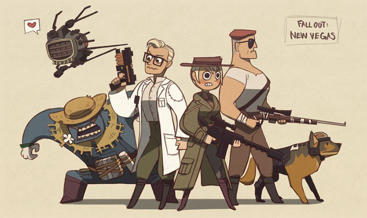 unoobang:  Fallout - New Vegas-!!