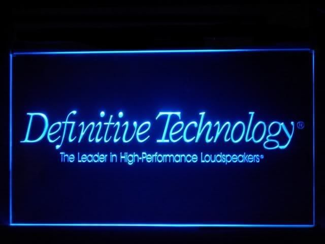 Definitive Technology LED Sign www.shacksign.com