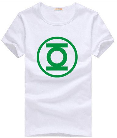 Big Bang Theory Sheldon Cooper Green Lantern unisex short sleeve t-shirt