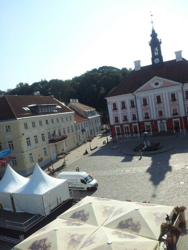 Raekoja Plats, Tartu. (August 2014)