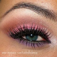 makeup: Make Up, Eye Makeup, Style, Eyeshadow, Color, Pink, Beauty, Purple Eye