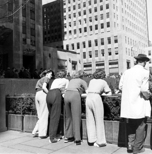 Nina Leen, New York City, 1940s.