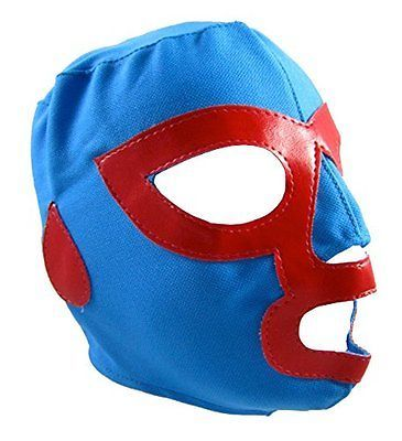 NACHO LIBRE Youth Lucha Libre Wrestling Mask KIDS Costume Wear, New