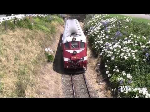 Railcar Tokomaru, Whanganui 2016