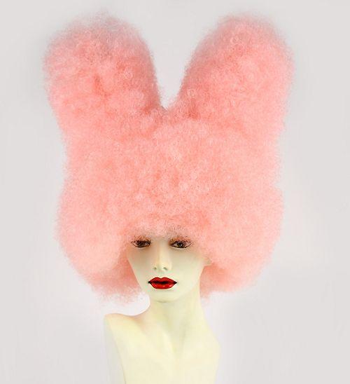 Bunny Wig Rabbit Ears Wig Crazy Costume Wigs Kawaii