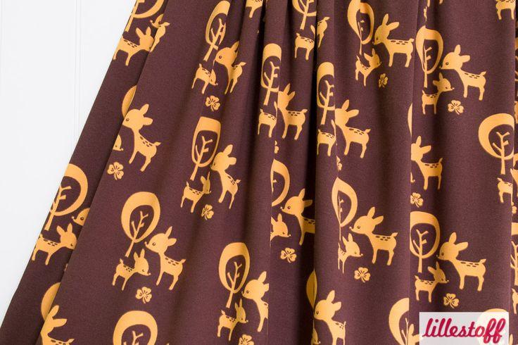 lillestoff » Deer Friends « // Design: Anna Boye // hier erhältlich: http://www.lillestoff.com/deerfriends-1845.html