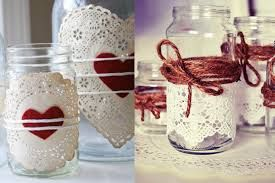 Resultat d'imatges de pots de vidre decorats