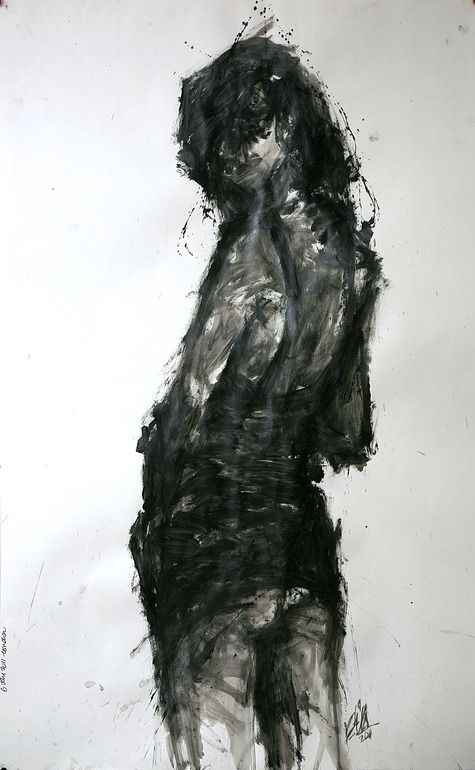 "Khalid Khan; Acrylic, Painting ""untitled"""