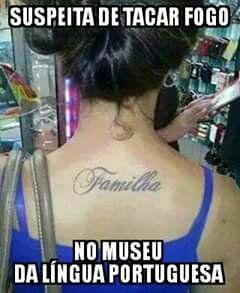 Esse tatuador vai ser demitido! kkkkk - Veja o post completo: http://zapzapdazoeira.blogspot.com.br/2016/01/queima-ela-pasquale.html #whatsapp #zzz #memes
