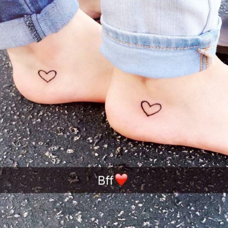 Wij vrouwen houden van mini-tattoos en zijn dol op hartjes. Wat nou als je die twee kan combineren!