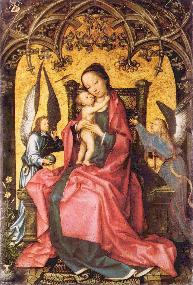 Мария с ангелами, ок.1505