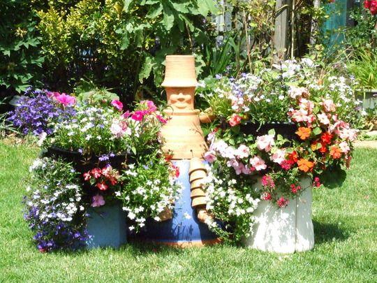 Flower Pot People Gardening Pinterest Flower Pot